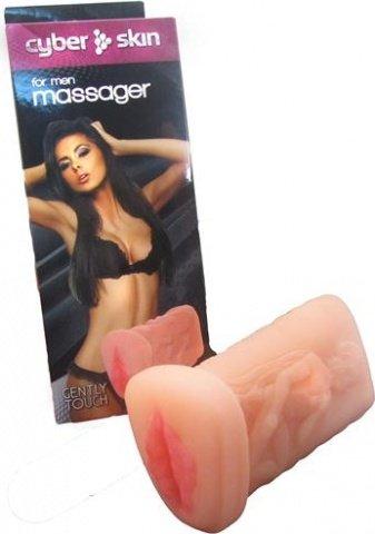 Массажер для мужчин, вагина, без вибрации, неоскин, 110 х160 мм 16 см, фото 2