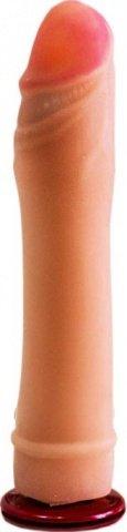 Фаллоудлинитель, киберскин, 38 х180 мм 19 см, фото 2