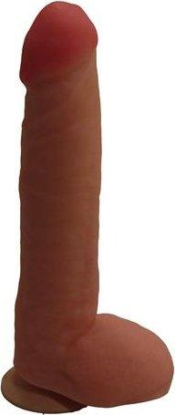 Фаллоимитатор на присоске неоскин 25 см