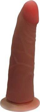 Фаллоимитатор на присоске Кибер-кожа 17 см