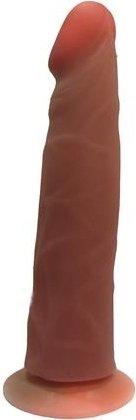Фаллоимитатор на присоске Кибер-кожа 18 см