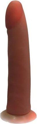 Фаллоимитатор на присоске Кибер-кожа 21 см