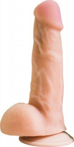 Фаллоимитатор на присоске, неоскин, 42 х170 мм 17 см