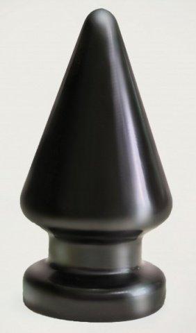 Плаг-массажёр для простаты black magnum 3 в ламинате
