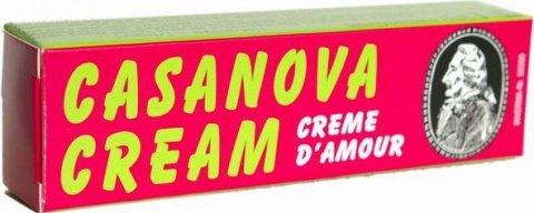 Стимулирующий возбуждающий мужской крем Casanova Cream, фото 2
