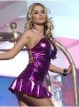 Платье с открытой спиной фиолетовое - Секс-шоп Мир Оргазма