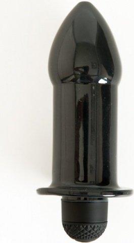 Вибровтулка 11,5 см черная, фото 2