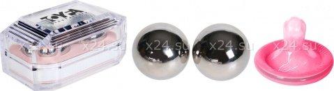 Вагинальные шарики, металлические d=30 мм, фото 2