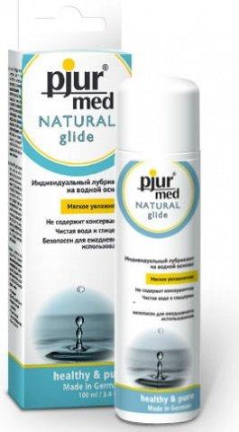 Нейтральный лубрикант на водной основе Natural glide 100 ml, фото 2