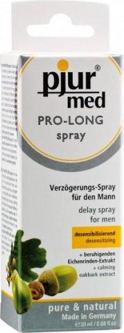 Пролонгирующий спрей с экстрактом дуба и пантенолом Pro-long Spray 20 ml, фото 2