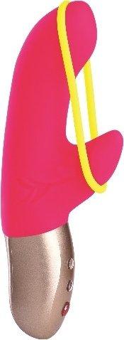 Вибратор amorino розовый +зарядное устройство 17 см, фото 3