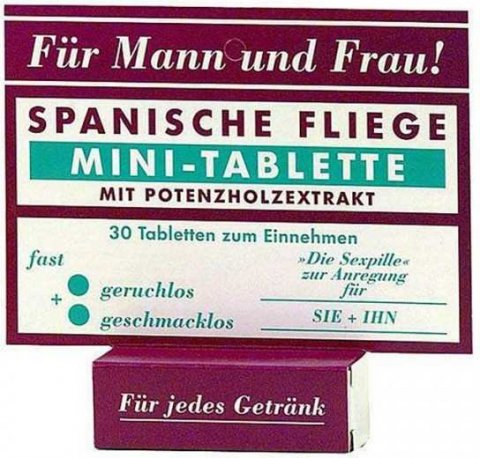 Шпанская мушка-мини-таблетки 30 таб