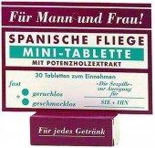 Шпанская мушка мини таблетки 30 таб - Секс шоп Мир Оргазма