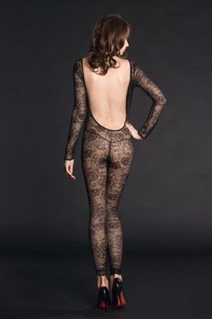 Боди в виде чулка на тело vi a des ys catsuit