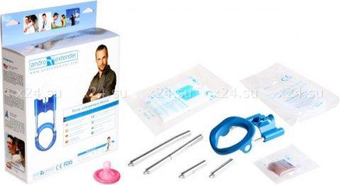 Аппарат для увеличения пениса Andro-Penis Extender Blue, фото 3