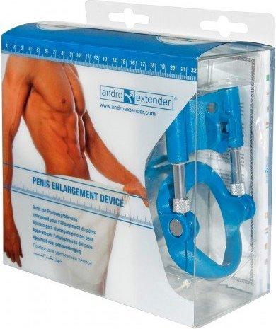 Аппарат для увеличения пениса Andro-Penis Extender Blue, фото 8
