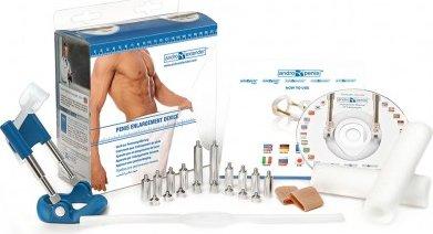 Аппарат для увеличения пениса Andro-Penis Extender Blue, фото 9