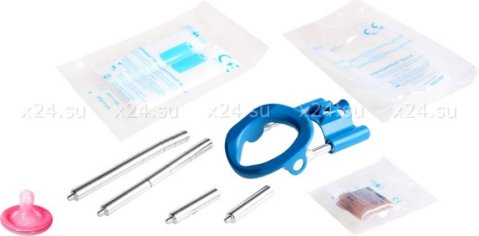 Аппарат для увеличения пениса Andro-Penis Extender Blue, фото 5