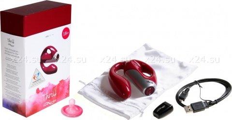 Электровибромассажер ruby-красный