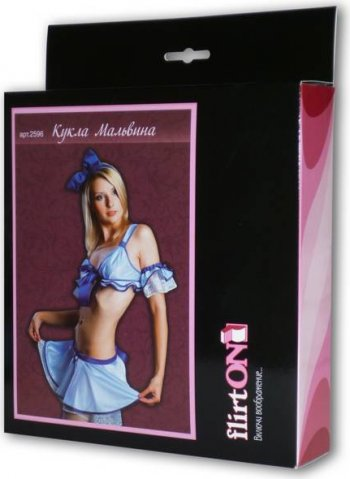 Костюм Кукла Мальвина р (большое фото 2) > Секс шоп Мир Оргазма