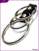Эрекционные кольца, 3 штуки, диаметр 50 и 38 мм - Секс шоп Мир Оргазма