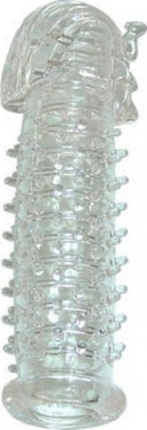 Насадка Фараон, гелевая, прозрачная, 30 х140 мм