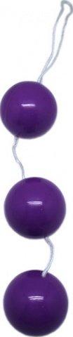 Шарики тройные, фиолетовые, диаметр 34 мм, фото 3