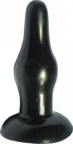 Пробка анальная, черная, 115 мм