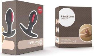 анальный стимулятор черно-малиновый b balls, фото 2