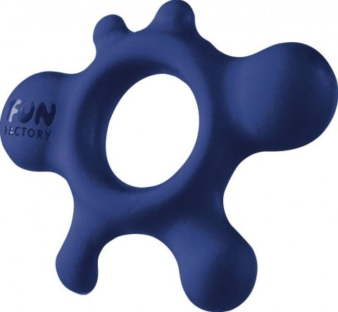 Кольцо эрекционное Lovering Rain синее