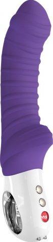 Вибратор tiger, фиолетовый g 5 зарядное устройство в коробке 22 см
