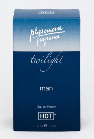 Духи для мужчин с феромонами Сумерки 50 мл 55001, фото 2