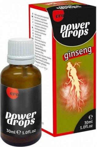Продукт для мужчин Hot Power Drops Ginseng