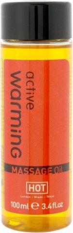 Массажное масло для тела Варминг100 мл, фото 2
