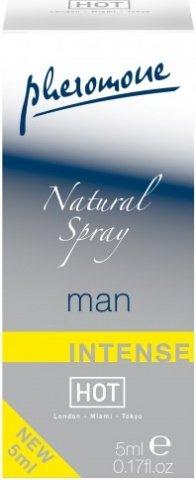 Духи Natural Spray с феромонами для мужчин (экстра сильные, без запаха) 5 мл, фото 2