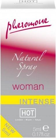 Спрей женский с феромонами натуральный 55057, фото 2