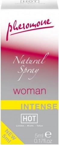 Духи Natural Spray для женщин с феромонами (экстра сильные, без запаха) 5 мл, фото 2