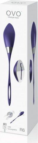 Виброяйцо на дистанционном управлении фиолетовое, фото 4