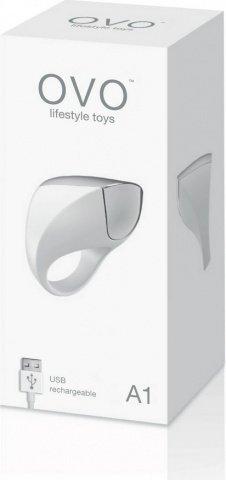 Эрекционное кольцо перезаряжаемое белое, фото 3