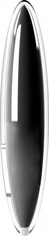 Мини-вибратор перезаряжаемый черный, фото 4
