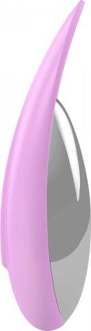 Клиторальный стимулятор перезаряжаемый розовый, фото 2
