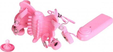 Вибробабочка розовая