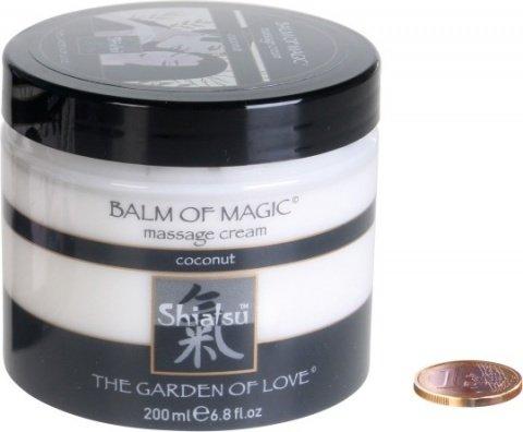 Массажноый крем Магическое удовольствие с запахом кокоса 200 мл