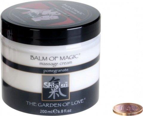 Массажноый крем Магическое удовольствие с запахом граната 200 мл