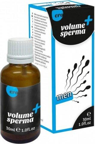 Капли для увеличения объема спермы Volume Sperma, фото 3