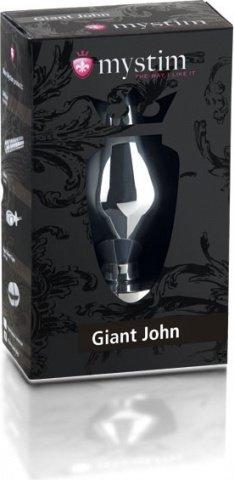 Giant John butt plug XXL Электростимулятор анальная пробка 16 см