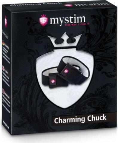 Charming Chuck Электростимулятор кольца для мошенки и пениса, фото 3