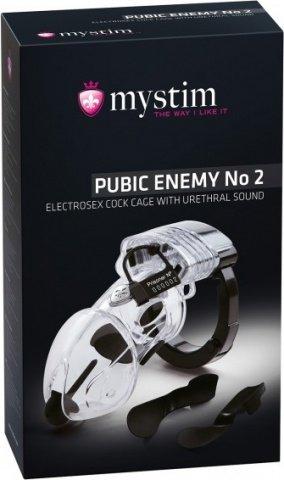 Pubic Enemy No 2 Элекростимулятор пояс верности, фото 2