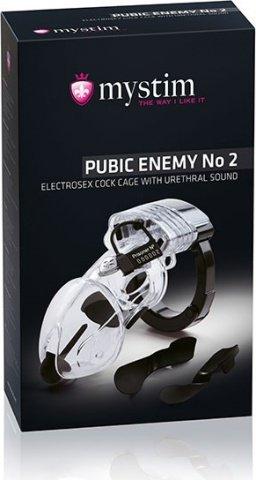 Pubic Enemy No 2 Элекростимулятор пояс верности, фото 3