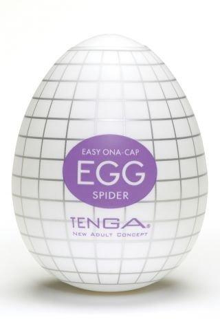 Супер эластичный мастурбатор в виде яйца spider, фото 2